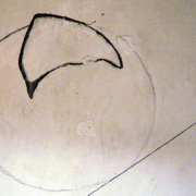 claudia schumann, untitled, 2007, walldrawing (graphite)